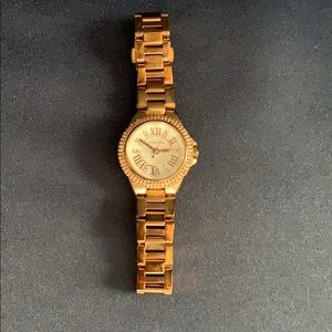 Camille White Dial Rose Gold-tone Ladies Watch
